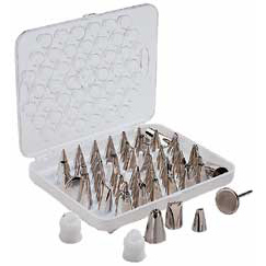 Wilton Deluxe Tip Set of 29 pieces