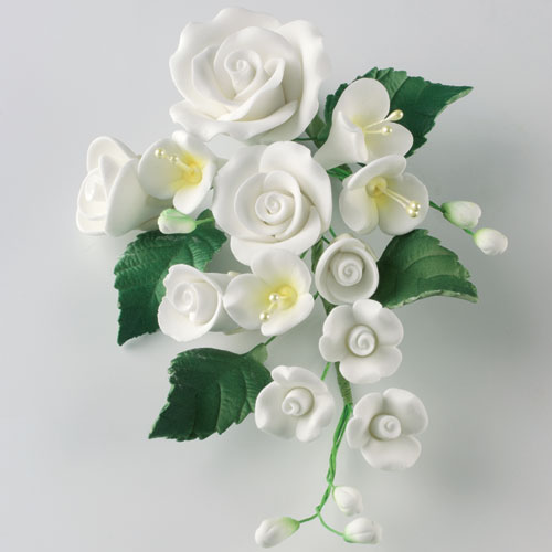 Bouquet of Roses - White