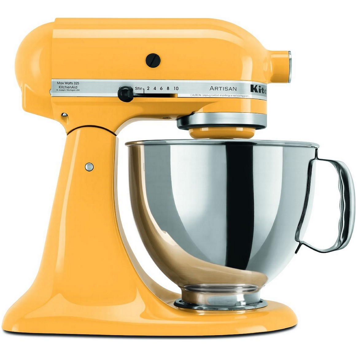 kitchenaid artisan stand mixer yellow pepper the great american