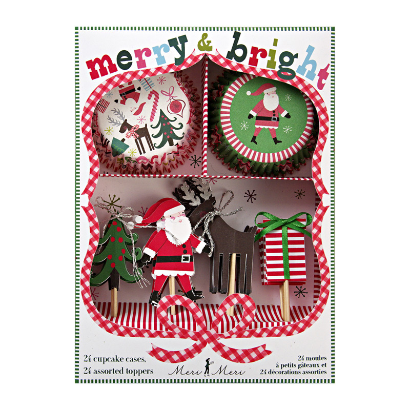 MM Merry and Bright Cupcake Kit