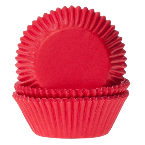Cupcake Baking Cases - Red